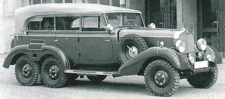 Mercedes 6x6 For Sale >> Oldtimer gallery. Cars. Mercedes-Benz G4.