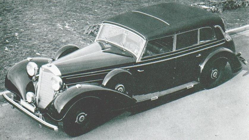 Oldtimer gallery cars mercedes benz 770 w150 grosser for Mercedes benz 770 for sale