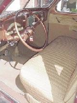 15k photo of 1939 Mercury 4-door sedan, interior