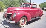 33k photo of 1939 Mercury convertible coupe