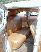 44k photo of 1940 Mercury 4-door Sedan, interior