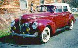 25k photo of 1940 Mercury Convertible Sedan