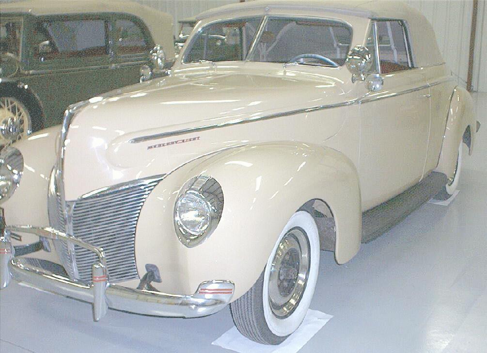 Oldtimer gallery cars 1940 mercury for 1940 mercury 4 door convertible