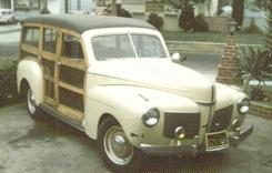 1941 Mercury Wooden Wagon