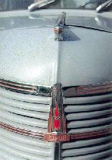 30k photo of Moskvich, grille