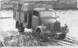 59k WW2 photo of Mercedes-Benz L3000S of Luftwaffe