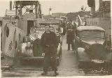 31k WW2 photo of Luftwaffe 1938 Packard 8 and Mercedes-Benz 170V Limousine