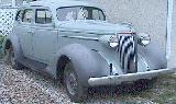 40k photo of 1937 Nash Lafayette 400 sedan with Ambassador grille(?)