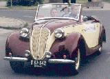 21k photo of 1937 model NSU-FIAT 1100 cabriolet