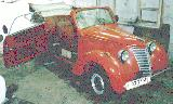 76k photo of 1939 model NSU-FIAT 1100 cabriolet, non-original axles
