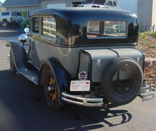 Oldtimer gallery cars 1929 nash for 1927 nash 4 door sedan