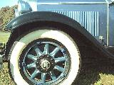 62k photo of 1929 Nash 470 4-door sedan, wheel