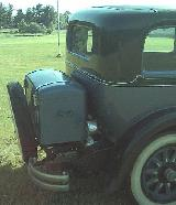 33k photo of 1929 Nash 470 4-door sedan, trunk