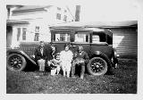 28k old photo of 1929 Nash 4-door sedan