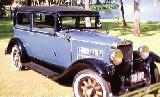24k photo of 1929 Nash 433 2-door sedan
