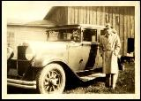 31k old photo of 1929 Nash 4-door sedan