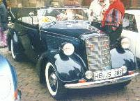 1935 Opel 2,0 L 4-light 2-door cabriolet