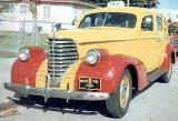 15k photo of 1938 Oldsmobile 4-door taxi