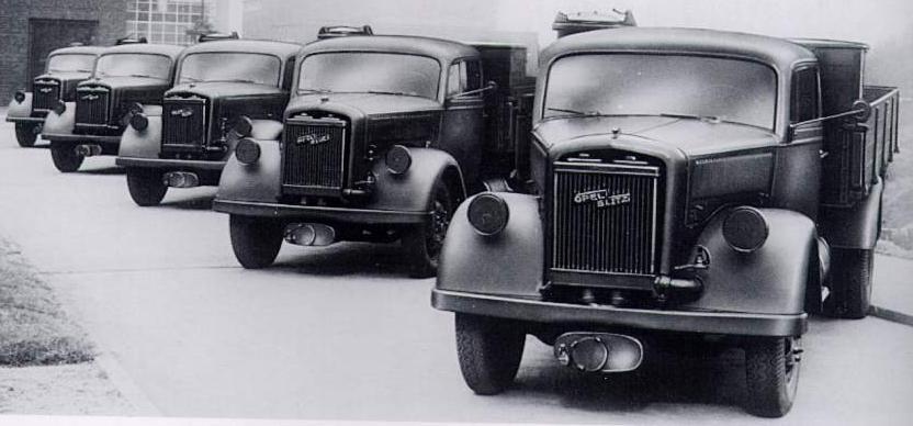 Military Vehicles For Sale >> Oldtimer gallery. Trucks. Opel-Blitz 3,6-36S.