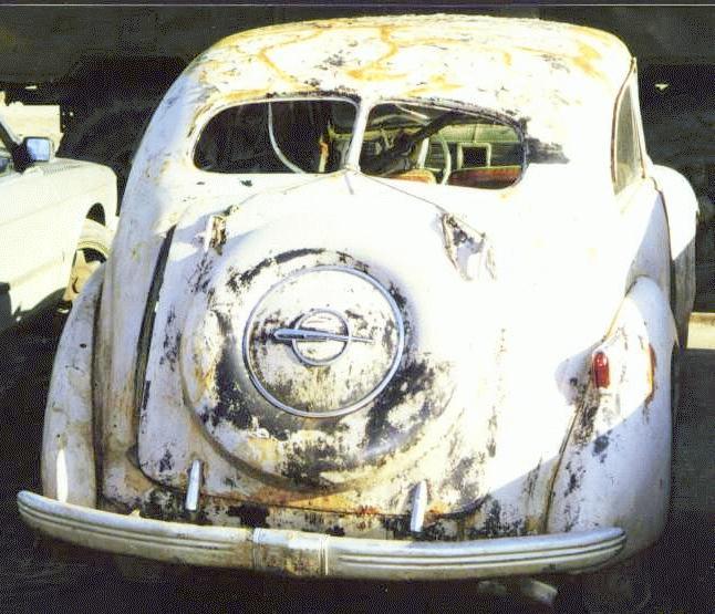 opel kapitän cabriolet 1939