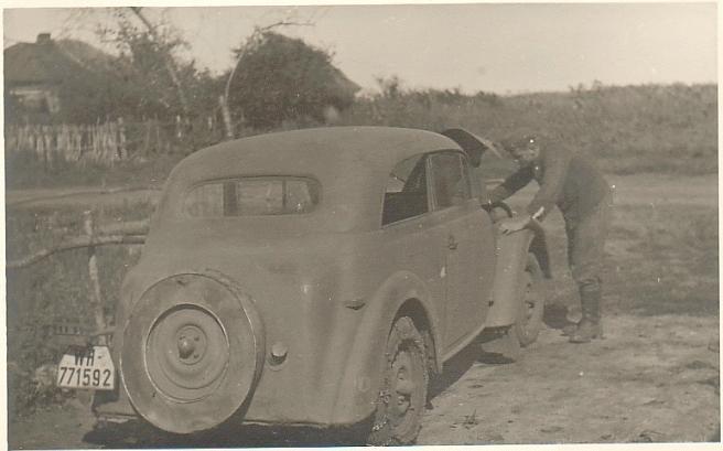 фото опель кадет 1940