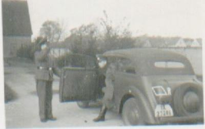 WW2 photo of Opel Kadett K38 Cabriolimousine