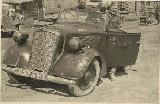 62k WW2 photo of 1936 Opel 2,0 Ltr. Wehrmacht Cabriolet in Russia