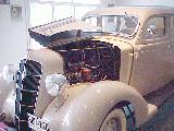 48k photo of 1935 Plymouth PJ 4-door Touring Sedan, motor division