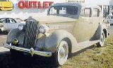 13k photo of 1937 Packard 120 4-door sedan