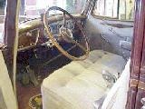 11k photo of 1937 Packard 1500 Super Eight touring sedan, interior
