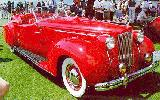 40k photo of 1937 Packard Darrin convertible victoria