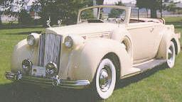 1938 Packard 1601 convertible coupe 1199