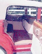 23k photo of 1938 Packard 1608 convertible sedan 1153, interior