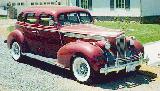 24k photo of 1940 Packard 120 4-door sedan with wrong wheels