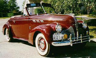 1940 Pontiac Eight 21k Image Of Convertible