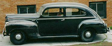 41 plymouth sedan