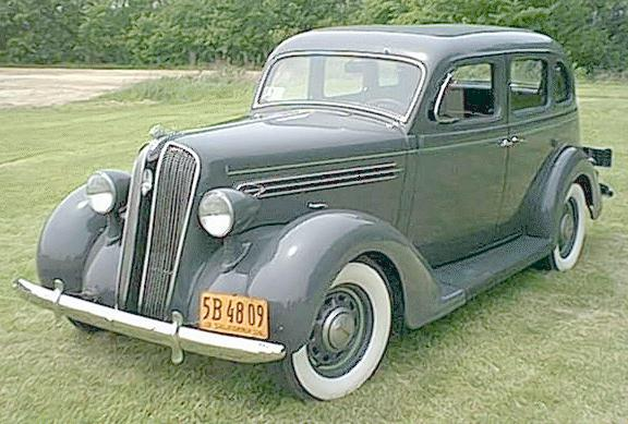 Oldtimer gallery cars 1936 plymouth for 1936 plymouth 4 door