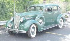 1937 Packard 120 4-door sedan