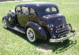 62k photo of 1937 Packard 120C 4-door touring sedan