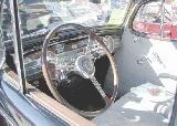 41k photo of 1937 Packard 120C 4-door touring sedan, dashboard