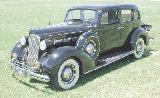 36k photo of 1937 Packard 120C 4-door touring sedan