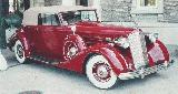40k photo of 1937 Packard 1507 convertible victoria