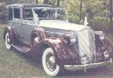 39k photo of 1937 Packard Super 8 with 1929 body by Brewster
