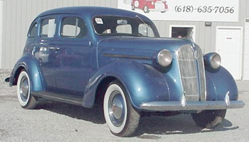 Oldtimer gallery cars 1937 plymouth for 1937 plymouth 4 door sedan