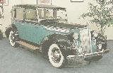28k photo of 1938 Packard 1605 limousine by Brewster Coachwork Co.