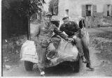 37k WW2 photo of Peugeot 402 long wheelbase