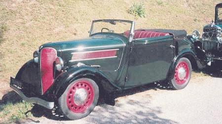 Oldtimer gallery. Cars. Rosengart LR4 N2.