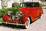 31k photo of 1939 Rolls-Royce Wraith 4-door cabriolet by H.J.Mulliner