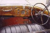 28k photo of 1939 Rolls-Royce Wraith 6-light limousine by Park Ward instrument panel