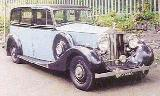 16k photo of 1939 Rolls-Royce Wraith 6-light limousine by Park Ward